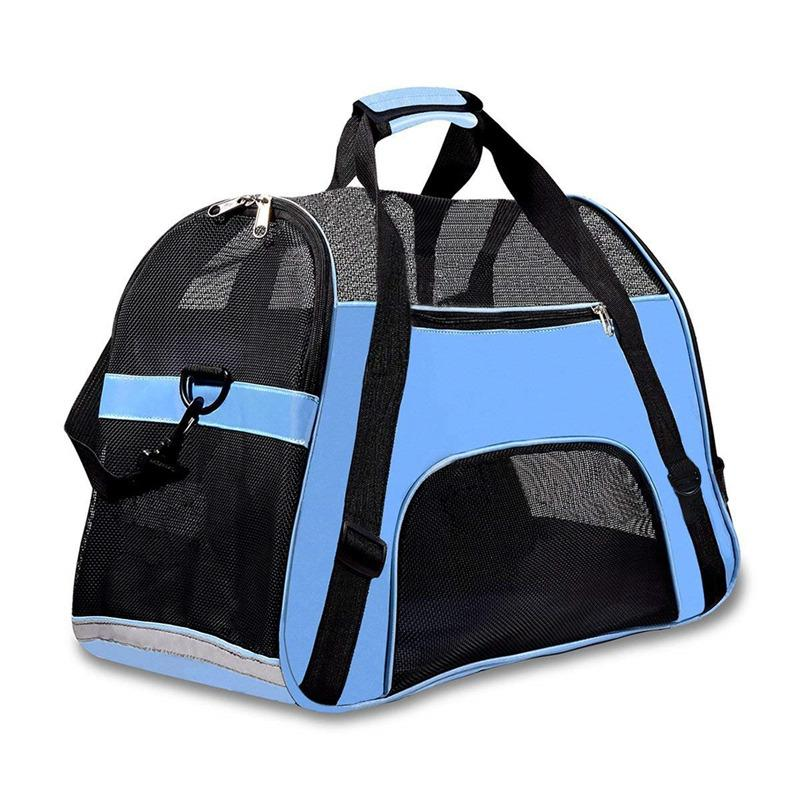 48573d8b95 2019 Portable Travel Pet Carrier For Cat Dog Backpack Carrying Handbag  Small Dog Shoulder Sling Bag For Puppy Kitten Chihuahua Animal From Hd0528,  ...