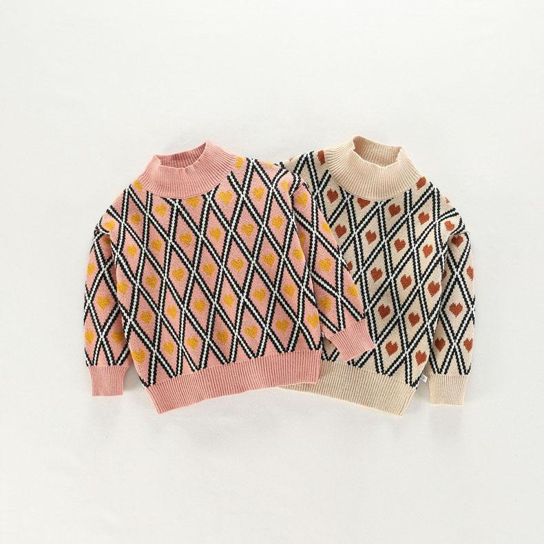 bf5dd67315cd Kids Sweaters Boys Plaid Sweaters Children Pullover Autumn Baby ...