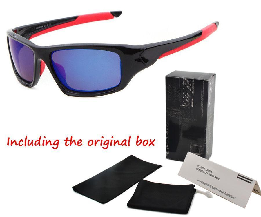 a92c1fbca3 2017 Brand Sports Cycling Sunglasses Dazzling Eyeglasses Fashion Summer Men  Women Goggles Coating Male Sun Glasses with Original Accessories Online  with ...