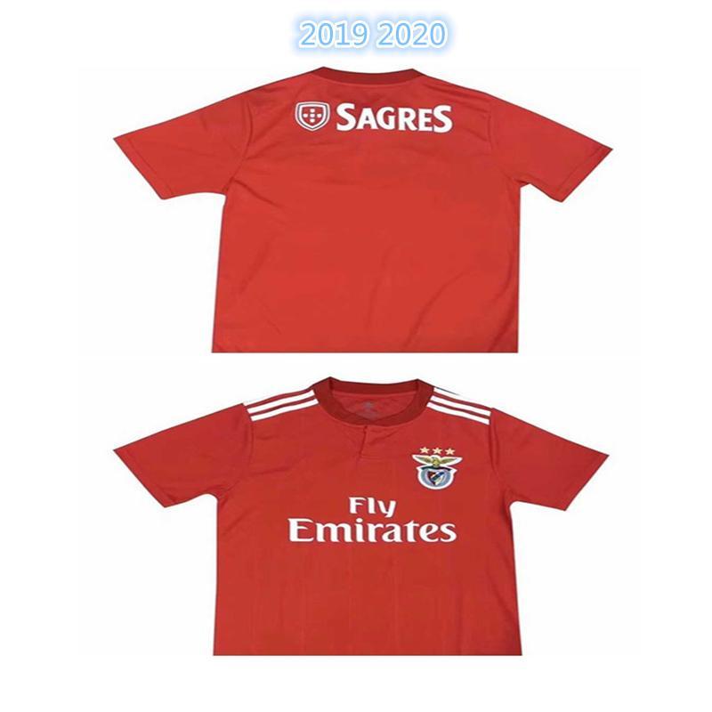 pretty nice 25e24 c04b5 Thai quality SL Benfica 2019 2020 JOAO FELIX soccer jersey GRIMALDO RUBEN  DIAS PIZZI RAFA JONES GEDSON SEFEROVIC 19 20 football shirt