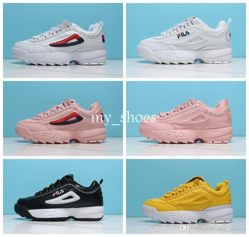 new concept a7068 f46ce Disruptors 2.0 II 2018 New Running Shoes for Women Mens raf simons ozweego  Sawtooth Ladies Casual Dad shoes Designer Womens Sneakers 36-44