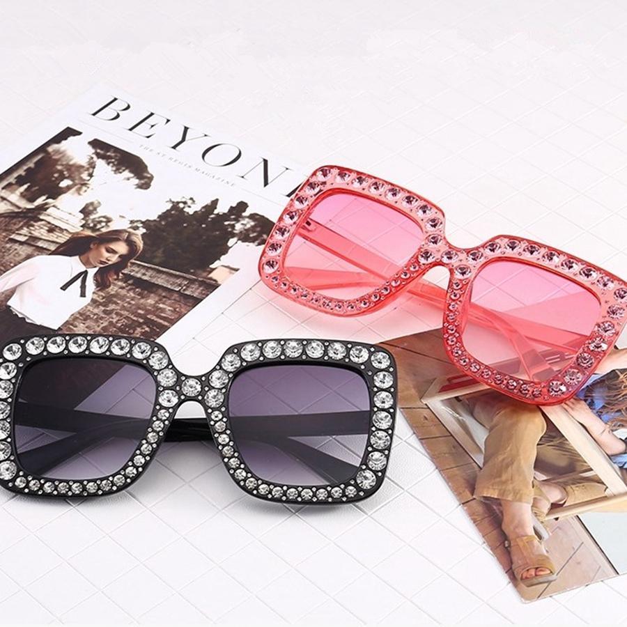 Compre Fashion Square Diamond Gafas De Sol Clasicas Mujeres Disenador Gafas De Sol Damas Vintage Grandes Tallas Mujer Gafas Gafas Tta1007 A 0 04 Del B2b Life Dhgate Com
