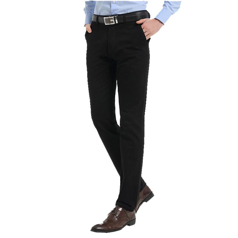 f4348de356 Compre Nuevos Pantalones De Vestir Para Hombres Diseñador De Moda De Alta  Calidad 100% Algodón Pantalones Casuales De Negocios De Talla Grande