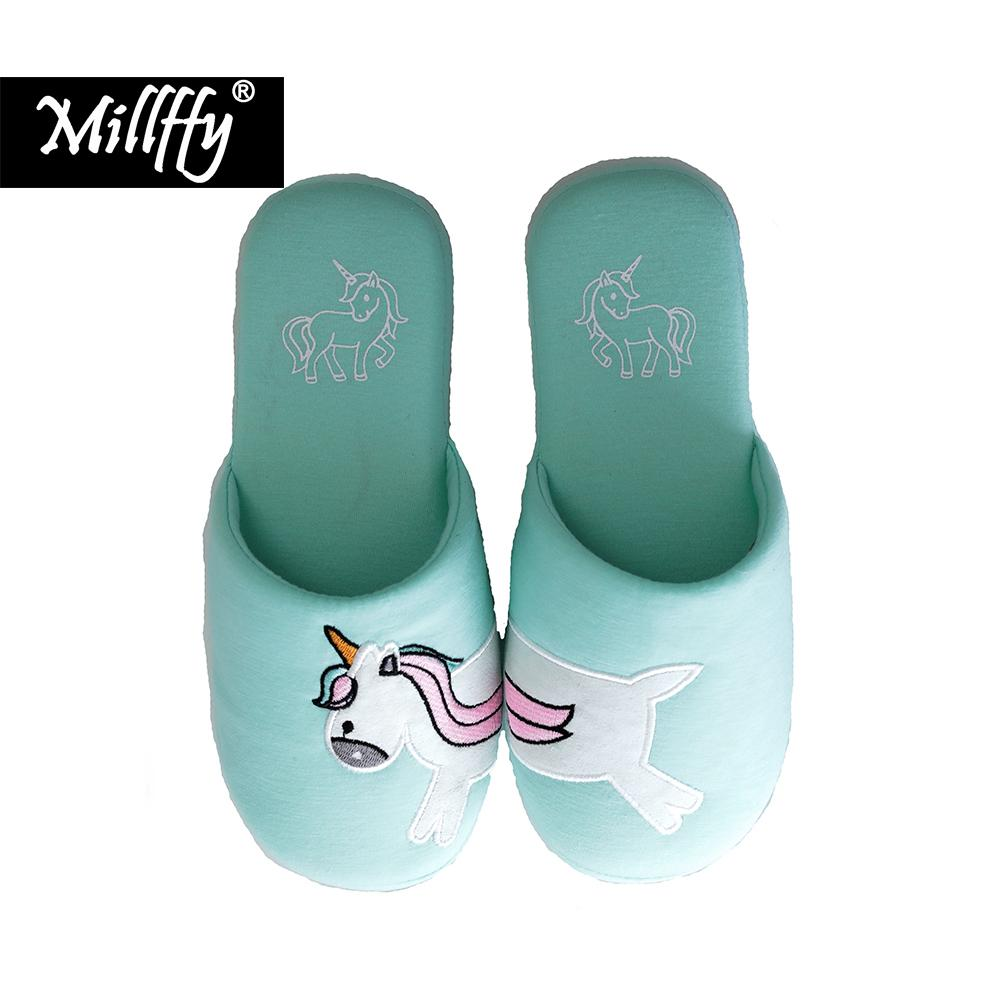 Hot New Fashionable 4 Seasons Cotton Slippers Simple Dachshund Dog  Embroidered Unicorn Home Slippers Sweet Women S House Shoes Shoe Boots Fur  Boots From ... 6a8230a2cf