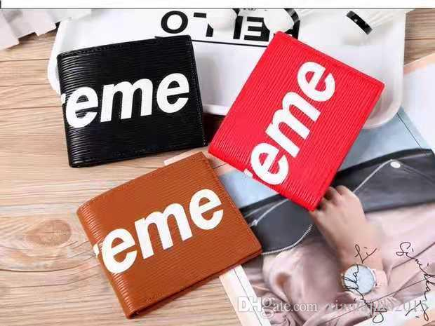 a71a6ae24c06 2019 Wallets Purse Men Women Wallet New Brand Leather Wallet Fashion Men  Purse Arteira Masculina Long Coin Pocket Men Purse Handmade Leather Wallet  Best ...