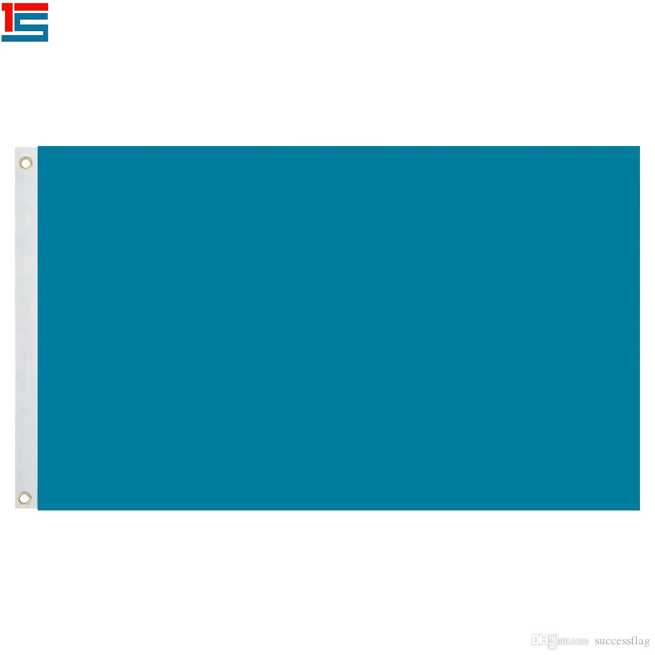 Deep blue sinle color solid flag Flag 3ft X 5ft Polyester, 90*150cm flag with 2 grommets,Flags of simple colour