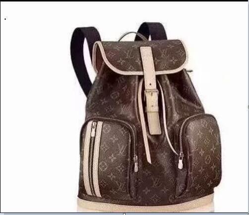 fa53d69a6858 2019 Louis Vuitton Men S Women Sleather Shoulder Bag Men S Large Capacity  Backpack Travel Bag Fashion Leisure Schoolbag Handbag A13829 Camera  Backpack Back ...