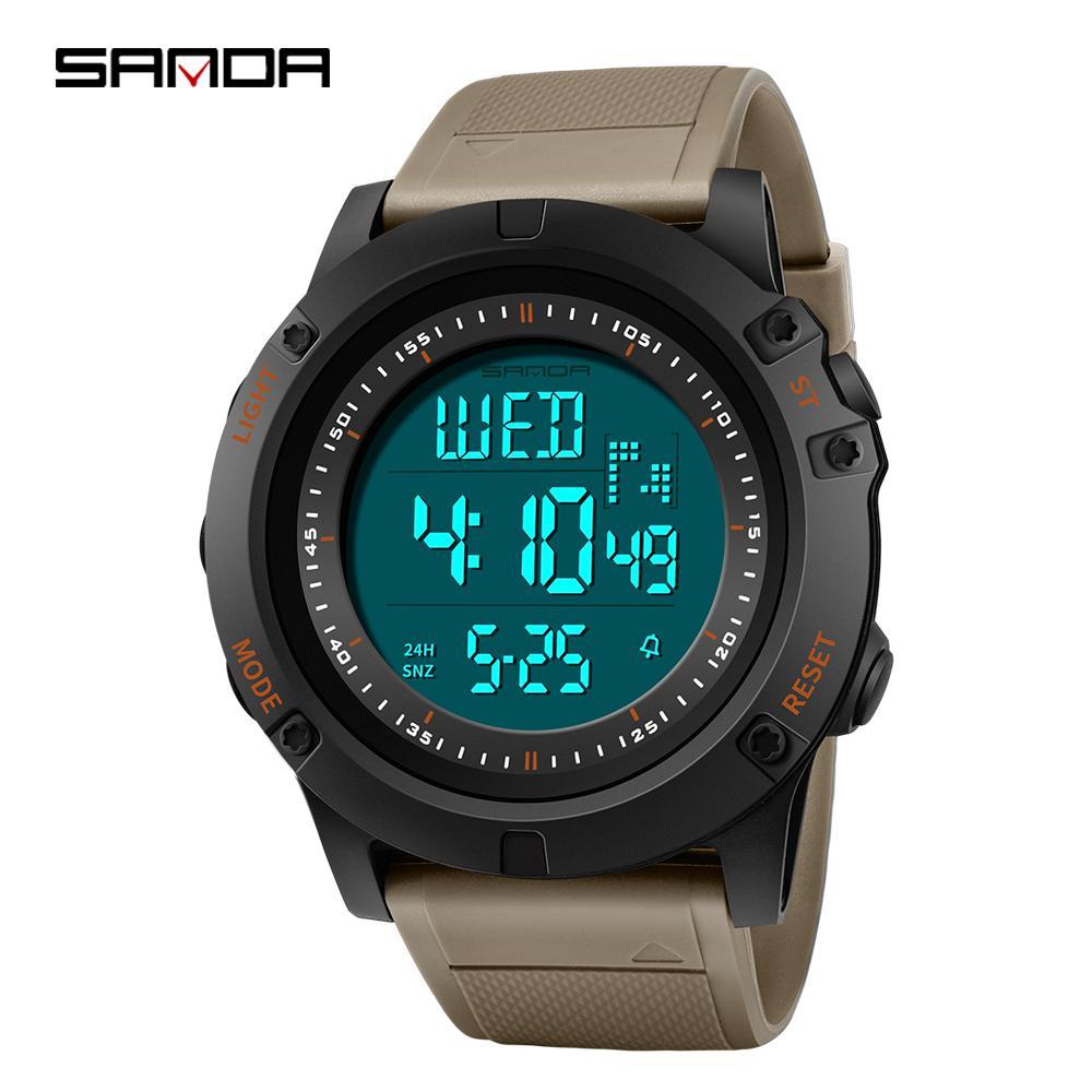 c3339ed910f SANDA Men Sport Watch LED Digital Watch Countdown Shockproof Waterproof  Relogio Masculino Chronos Electronic Watches Online Buy Watches Buy Online  Watch ...