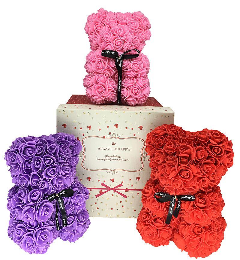 Grosshandel Teddybar Rose Valentinstag Geschenk Fur Freundin