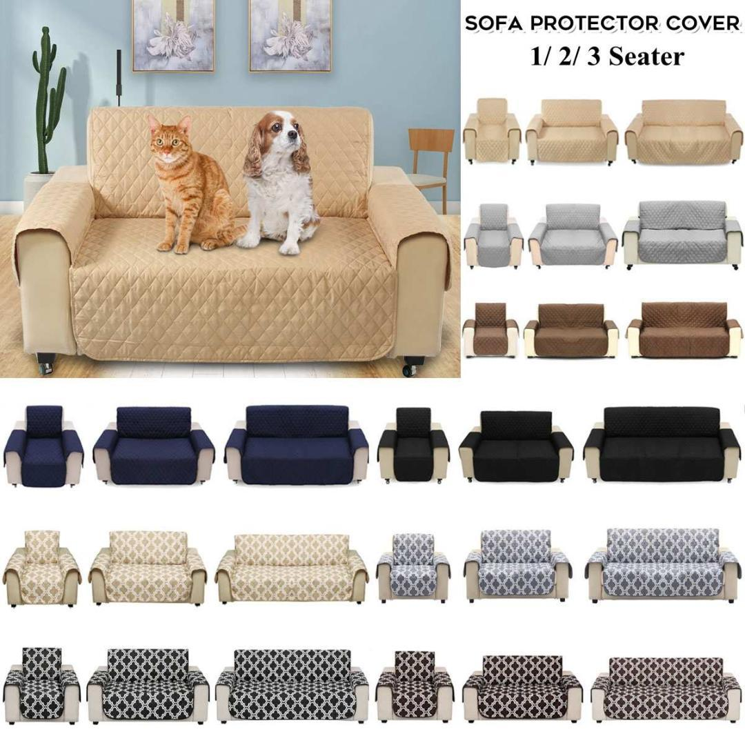 Brilliant 1 2 3 Seat Black Brown Grey Beige Pet Sofa Couch Furniture Protective Cover Removable Waterproof Anti Slip Ocoug Best Dining Table And Chair Ideas Images Ocougorg