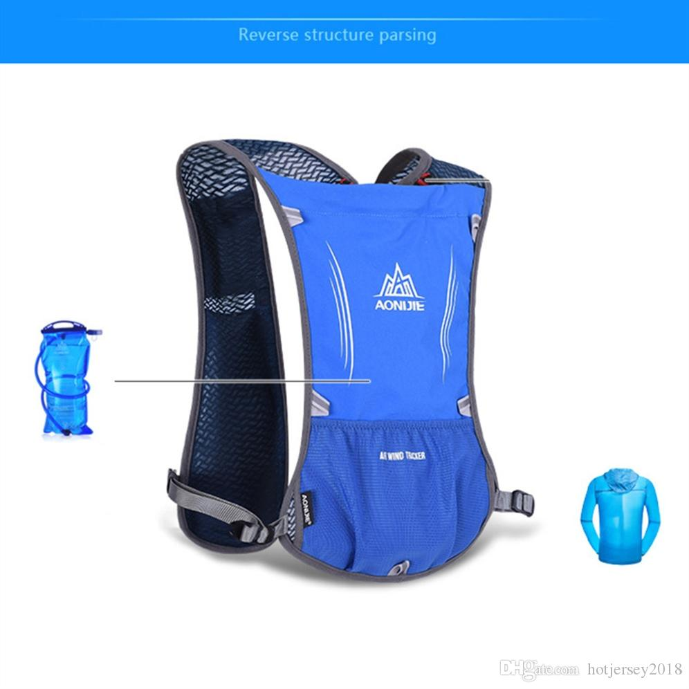 01b38fe697 2019 AONIJIE Women Men Lightweight Running Backpack Outdoor Sports Trail  Racing Marathon Hiking Fitness Bag Hydration Vest Pack #234928 From  Hotjersey2018, ...