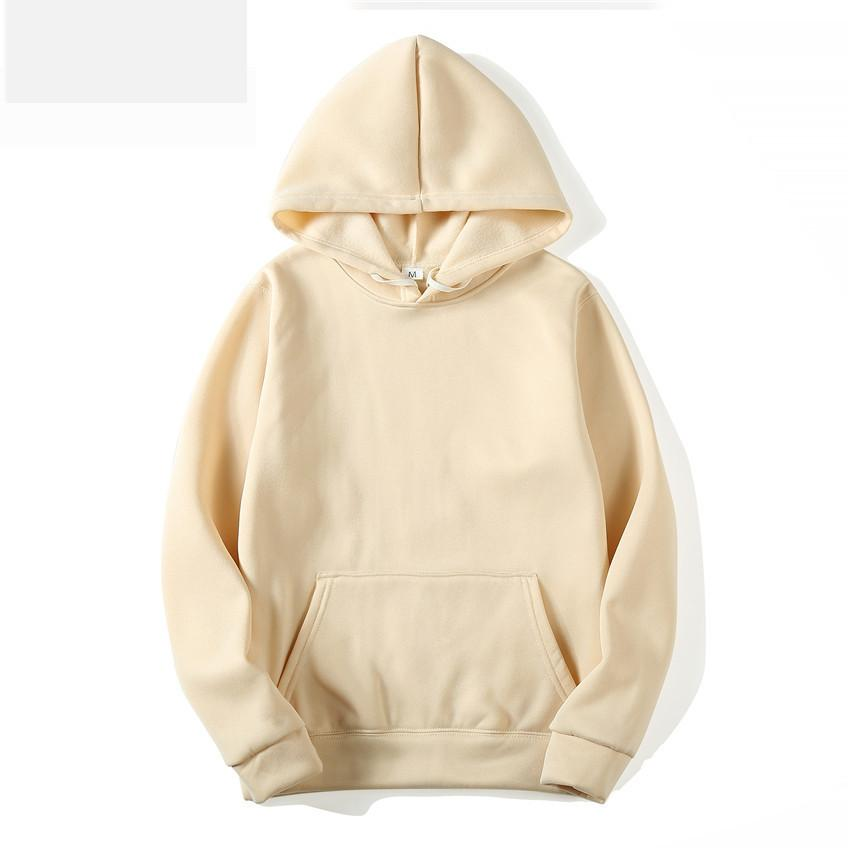 a9e2a2c7c70 Men Pullover New Hoodie Street Sport Mens Fashion Pure Clolrs Pullover Sweatshirts  Size S-3XL Mens Clothing O-Neck Hoody Online with  40.44 Piece on ...
