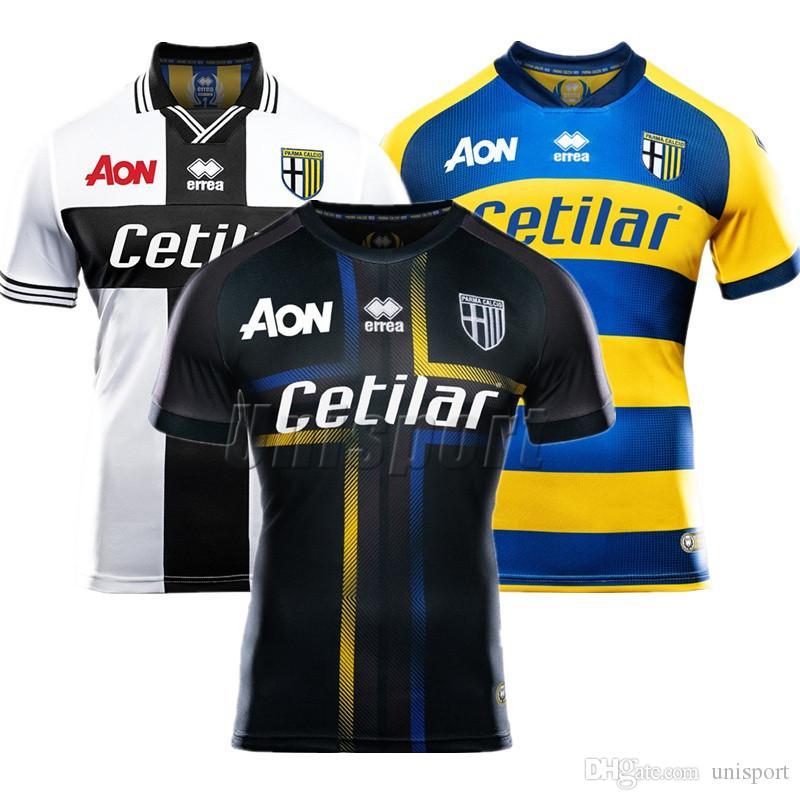 2018 19 Jersey De Fútbol Parma Calcio 1913 Levante Futbol Camisetas Roger  Morales Camiseta De Fútbol Camisa Maillot Por Unisport fa9aa69182347