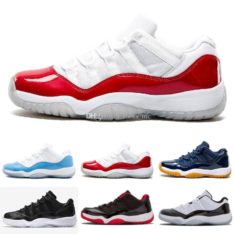 a49abbb8303a 2019 2018 11 11s Gamma Black BRED Men Basketball Shoes Gamma Blue Black Red Mens  Retro Sports Sneakers Shoes US 7 13 From Shoes inc