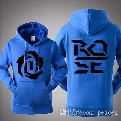 Derrick Rose Hoodies Best Flower Fleece Good Design Shirts Clothing  Basketball Star Coat Outdoor Cotton Jacket Brushed Sweatshirts UK 2019 From  Peaceg 31ce1977ac30