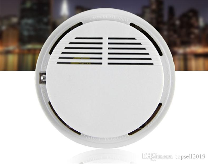 Smoke Detector Alarms System Sensor Fire Alarm Detached Wireless Detectors Home Security High Sensitivity Stable LED W 85DB 9V BatterySN2148