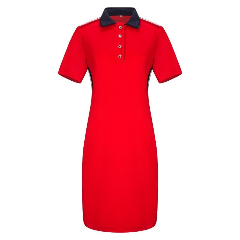 08ee4e5f2 Tenygo Spring New Women Dress 2019 Large Size Europe America Lapel Pencil Dress  Plus Size Women Clothing 6XL Big POLO Dress Styles For Women Sundresses  Sale ...