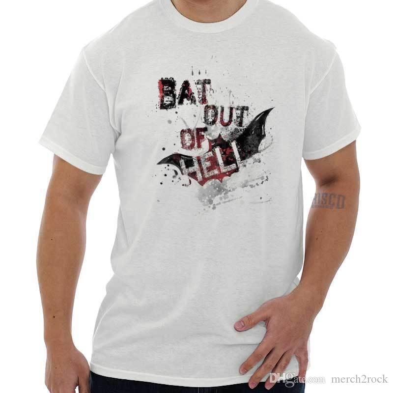 0712ac172 Bat Out Of Hell Halloween Shirt Trick Treat Scary Spooky Cool T Shirt  Clothes T Shirt Crazy T Shirts Designs From Merch2rock, $10.95| DHgate.Com