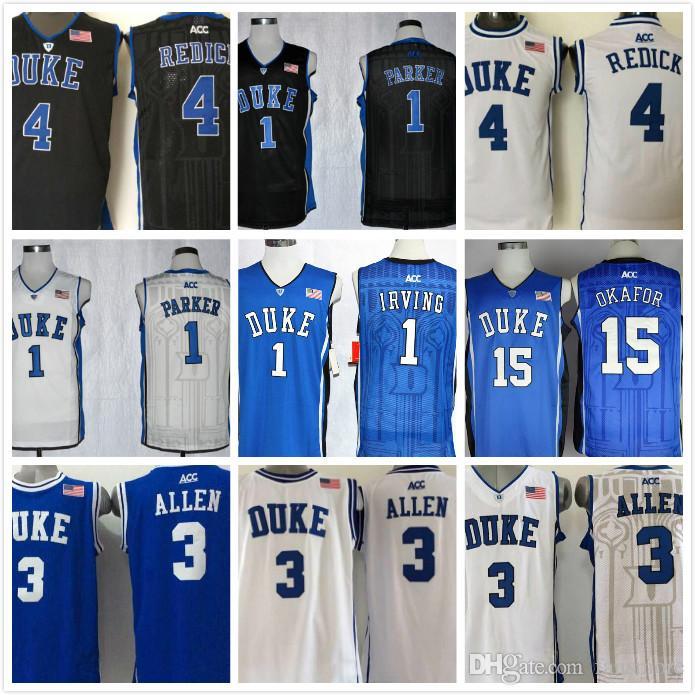3629399b530 2019 NCAA Duke Blue Devils 1 Kyrie Irving Basketball 1  Jabari ...