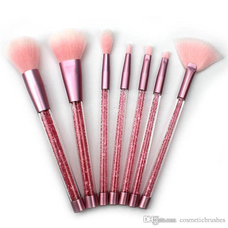 1b42bc4b0f85 myabsy bling aquarium liquid glitter brush set makeup brushes kit .