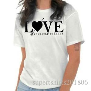 Love Yourself Forever Inspirational Self Love T Shirts T Shirts Tees For Womens