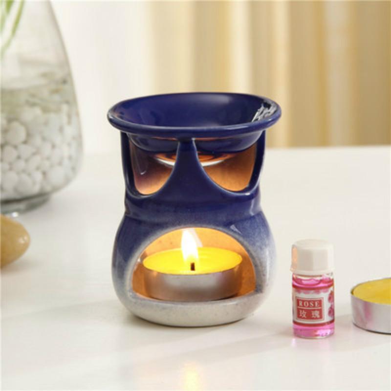 Ceramic Hollow Aromatherapy Furnace Candle Aromatherapy Lamp