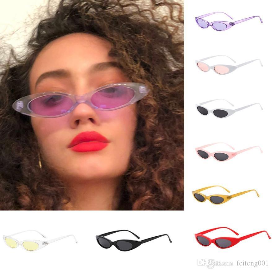2ecdb6a17131 2019 New Style Cycling Eyewear Retro Vintage Clout Cat Unisex Sunglasses  Rapper Oval Shades Grunge Glasses Ultraviolet Sunglasses  171501 From  Feiteng001