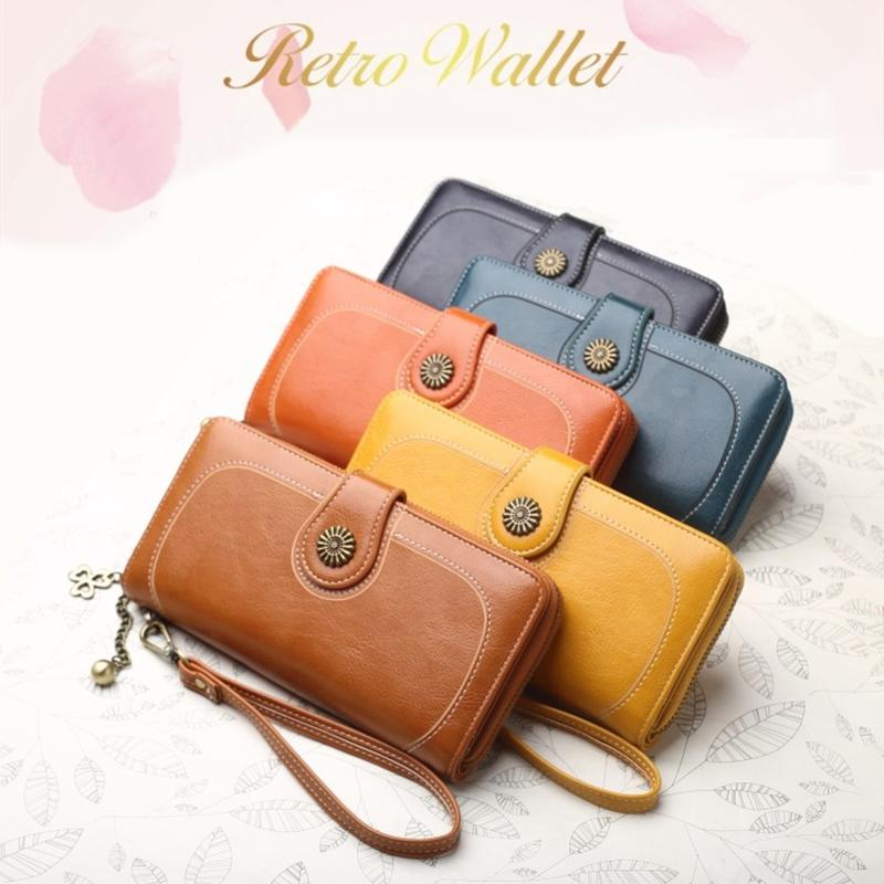 Women S Wallet Female Leather Purses For Women Hasp Phone Bag Money Coin  Card Holder Soft Leather Phone Card Female Clutch Sac Female Wallets Wallet  Clutch ... 2d9ca5751765