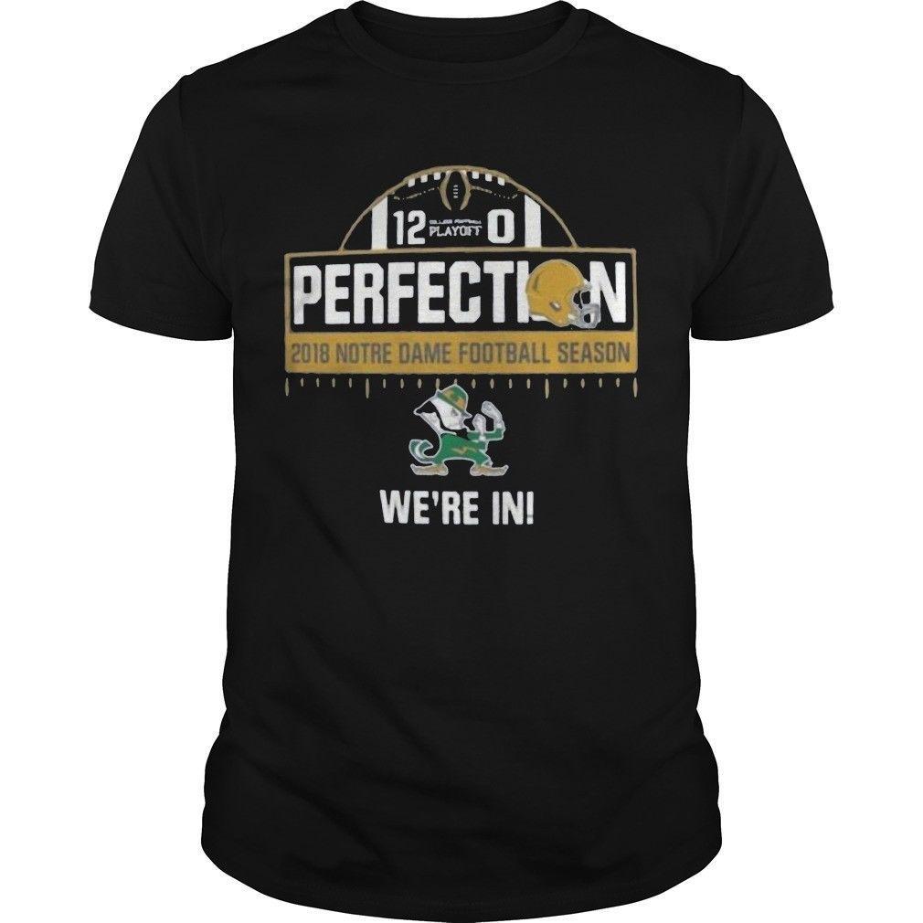 Grosshandel Notre Dame Unbesiegtes Hemd Lustige T Shirts Hemden