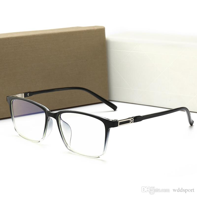 1067 Christian Men Women's Artistic Small Fresh Style Anti-Blue Light Glasses 53mm Lens 3 Color Glasses Frame With Box