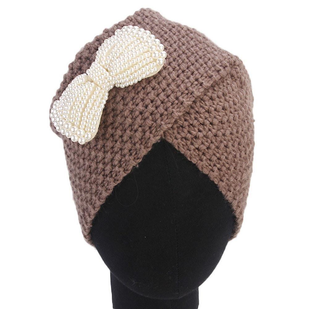 Knitted Winter Hat Women Felt Hat Ladies Turban Head Wrap Caps for Women  Twist Headwrap Girls Croceht Beanies  815 Online with  102.74 Piece on ... 2d95421d8b2