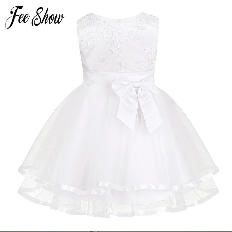 5c4a3bcc4 Compre Nuevo Vestido De Bebé Con Bragas De Encaje Bordado Blanco De La Niña  Vestidos De Bautizo 1 Año Vestido De Cumpleaños Ropa De Bebés Niñas Para 3  24 M ...