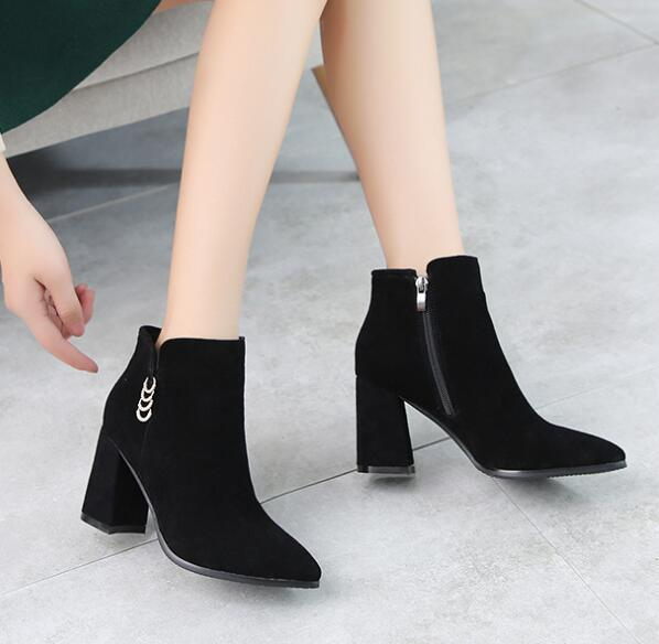6f1436a203da Fashion 2019 Casual Shoes Woman Autumn Comfortable Casual Shoes Women S  Winter Women Boots Zapatos De Mujer Botas Mujer Leather Boots For Women  Sporto Boots ...
