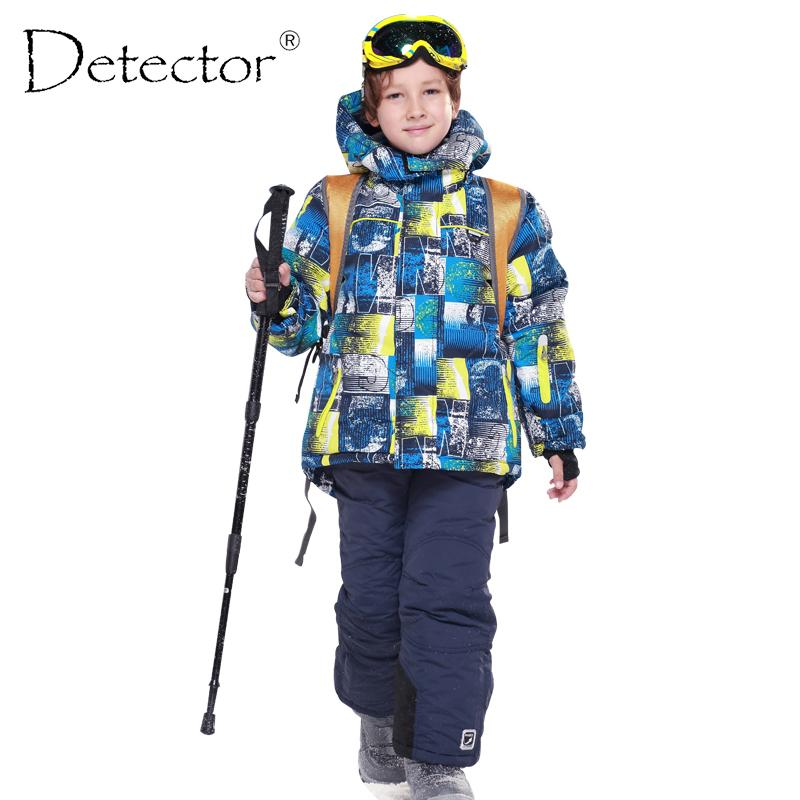 da7e3a696 Detector Boys Ski Sets Waterproof Windproof Children Clothing Kids ...