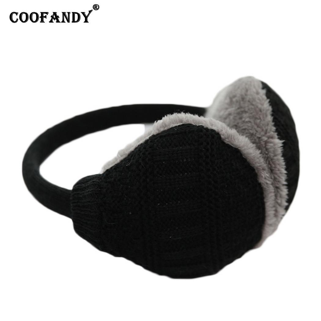 2019 Unisex Outdoor Men Autumn Ear Cap Women Earmuff Skiing 4inch 11 Plush  Knitted Accessories 29cm Winter Warm From Sisan08 8c217d3cce6