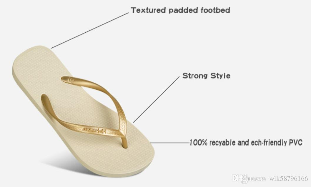 f3f7d96cb84 Hotmarzz Women Shoes Slippers Fashion Designer Beach Flip Flops Ladies  Summer Flat Thong Sandals Shower Slides High Heel Shoes Designer Shoes From  ...