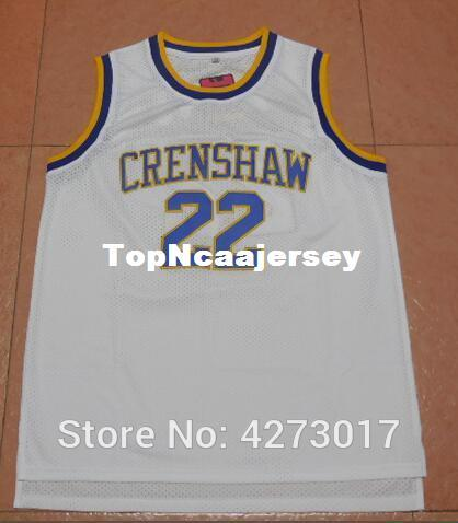 c93d462dba4 2019 #22 Quincy McCall Crenshaw High Love & Basketball Movie Stitched Jersey  White NCAA From Topncaajersey, $18.9 | DHgate.Com