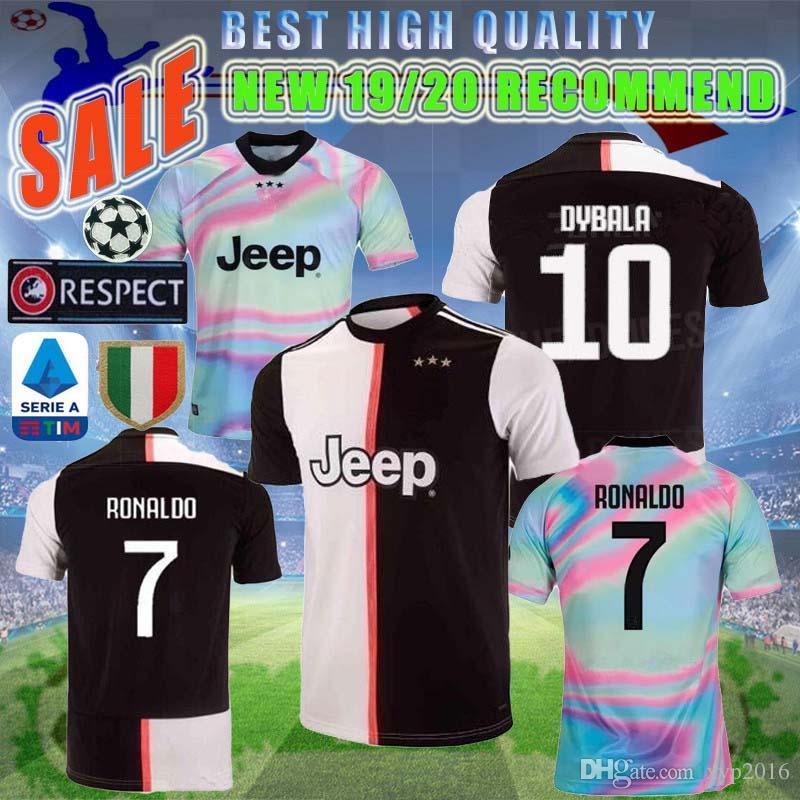 efae86327 2019 NEW 2019 2020 Italy Juve Champions League RONALDO JUVENTUS Soccer  Jersey 19 20 DYBALA MARCHISIO MANDZUKIC D.COSTA Football Shirt From  Xyp2016