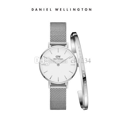 0bae329d4bdd Compre Nuevo DW RELOJ Daniel Wellington Relojes Marca De Lujo Relojes DW  Pulsera Correa Fina De Acero Montre Femme 40mm Para Hombre Mujer 32 Mm Reloj  De ...