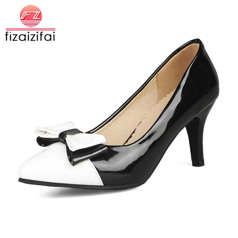 cab2b2ef5437 Wholesale Women S Pumps Bowtie Mixed Color High Heel Shoes Women ...