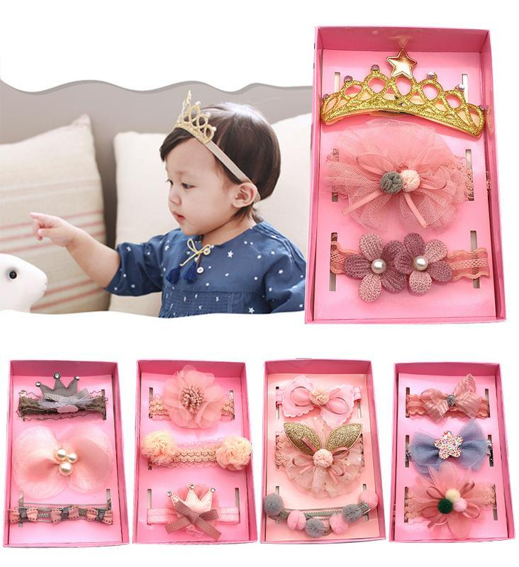 e03beef00118 Kids Elastic Flower Headband Headbands Hair Girls Baby Bowknot Hairband Baby  Girl Accessories Set Box Packaging Hair Accessories For Girl Toddlers Cheap  ...