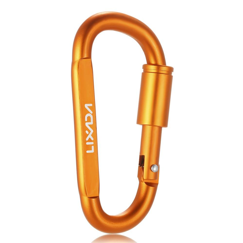 Back To Search Resultssports & Entertainment Lixada Aluminum Climbing Carabiner D-ring Key Chain Clip Outdoor Camping Keyring Snap Hook Water Bottle Buckle Travel Kit Tools Climbing Accessories