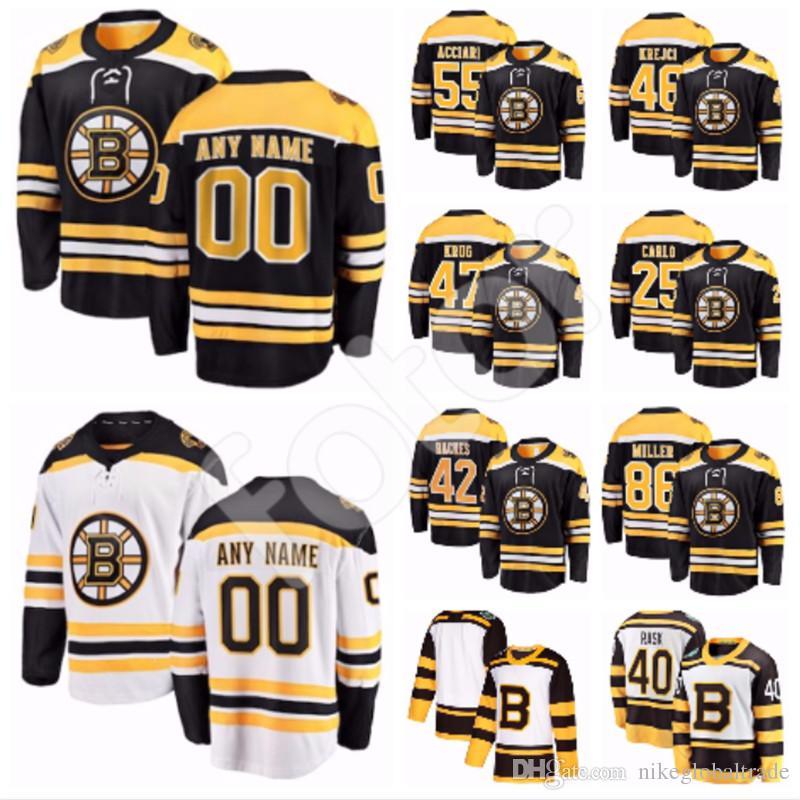 pretty nice 97220 fd59a Custom Boston Bruins Jersey Peter Cehlarik Urho Vaakanainen John Moore  Chris Wagner Jaroslav Halak Joakim Nordstrom Steven Kampfer Blidh