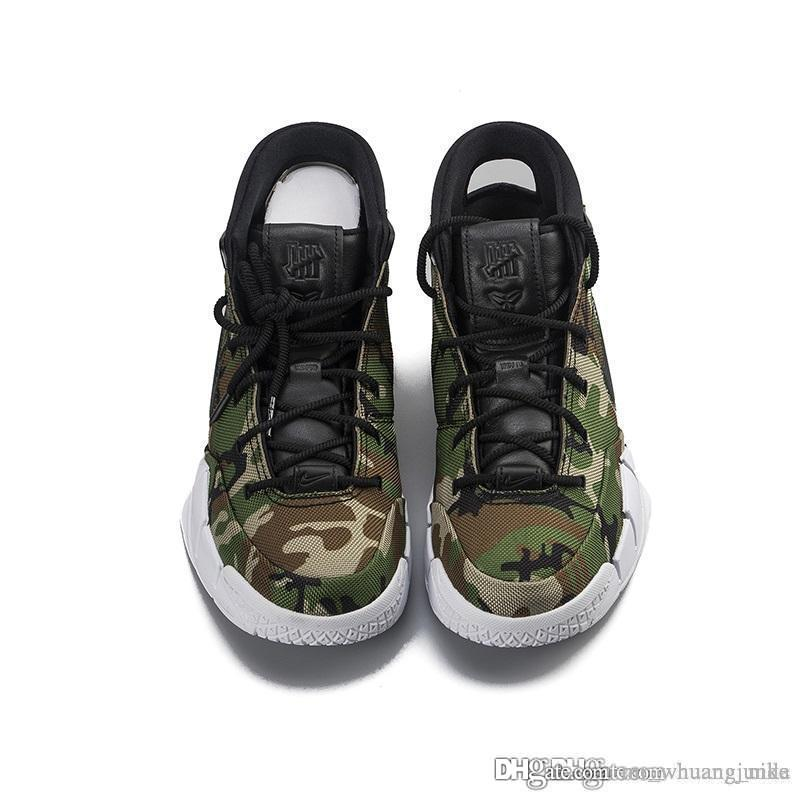 d4dfa28bdf92 2019 Cheap 2018 New Mens Kobe 1 Protro Basketball Shoes X Undefeated Devin  Booker Camo Green LA ASG Zoom Air KB ZK1 Sneakers With Original Box From ...