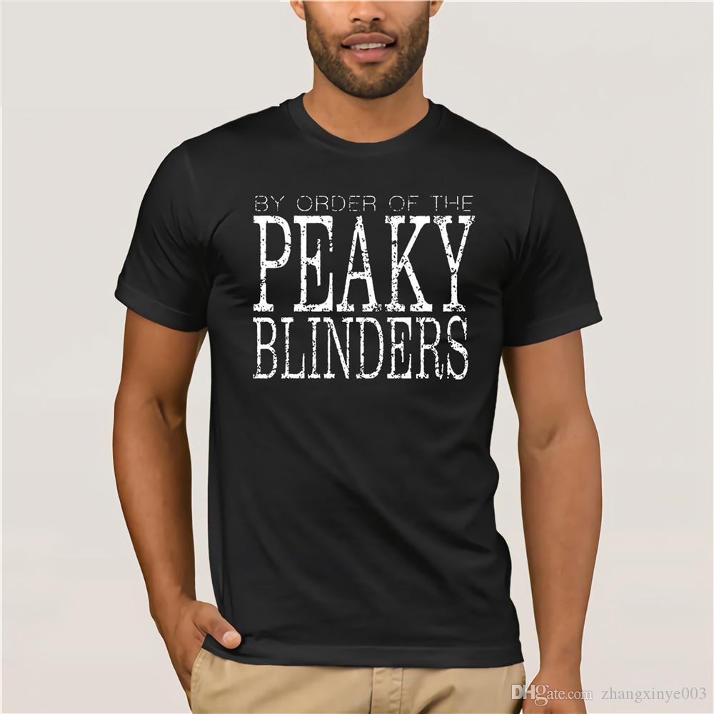 Tshirt Big Size Peaky Blinders By Order Of Peaky Blinder Plain T