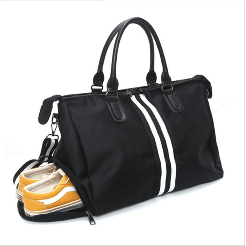 a926bc88fbca 2019 Fashion Designer Sport Multifunction Shoulder Tote Gym Bags For Shoes  Stroage Women Yoga Fitness Travel Bag Duffle Luggage From Kuyee