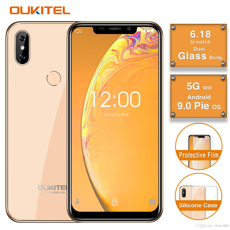 Cheap 4G LTE OUKITEL C13 Pro Android 9 0 Pie 64-Bit Quad Core MTK6739 2GB  16GB 6 18 U-notch Full Screen Fingerprint Face ID GPS Smartphone