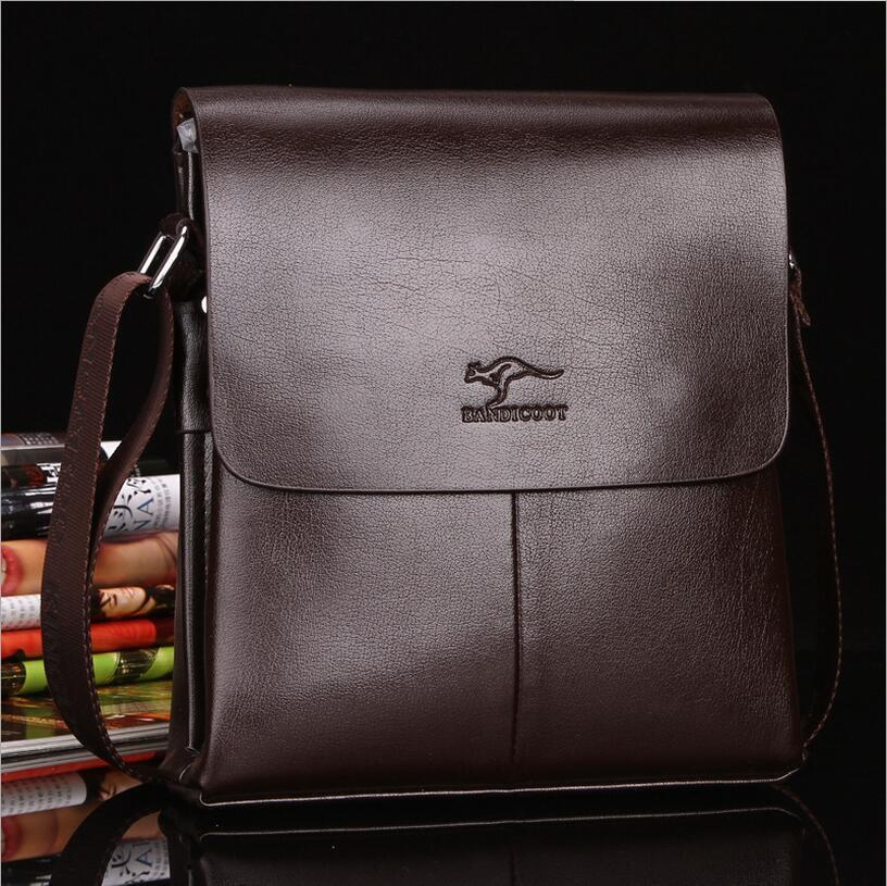 639c3b1f26e New Men Business Shoulder Bags Genuine Leather Flap Casual Cover ...