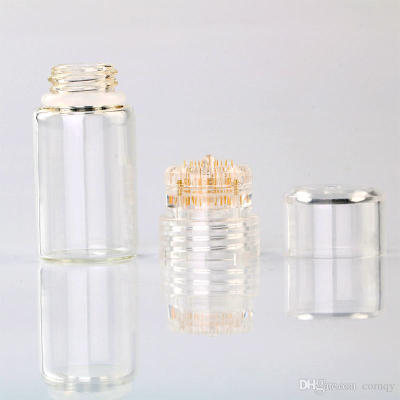 Fabrika çıkışları Hydra İğne 20 Aqua Mikro Kanal Mezoterapi Titanyum Altın İğneler İnce Dokunmatik Sistem Derma Damga Serum Aplikatör CE