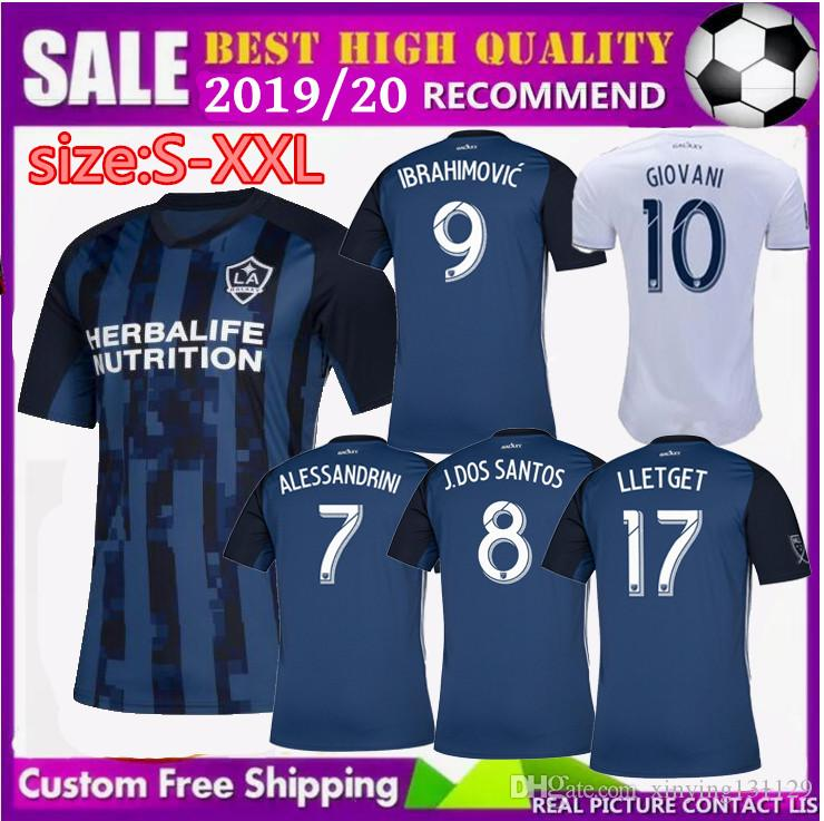 2019 NEW 2019 2020 Ibrahimovic La Galaxy Soccer Jersey Home Away Los  Angeles 19 20 GIOVANI COLE ALESSANDRINI KAMARA Jones ROGERS Football Shirts  From ... 94240923c